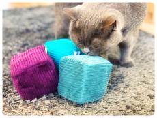 Cord-Spielkissen Smelly Cube (Baldrian)
