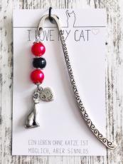 Lesezeichen Love My Cat