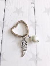 Schlüsselanhänger Flying Heart