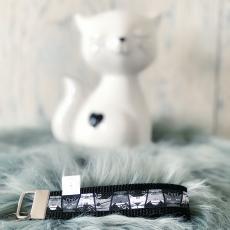 Schlüsselband Cats (schwarz)