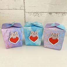 Geschenkbox CatsimoKatz Heart 6,3 x 6,3 cm