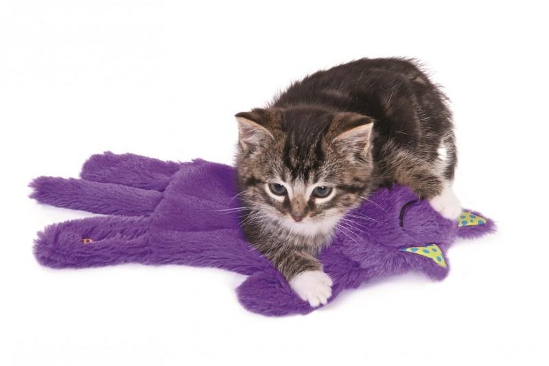 Schnurrendes Katzen-Kissen von Petstages