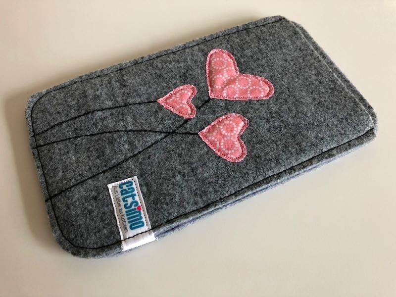 Filz Smartphone Schutzhülle N°4 (Wunschgröße)