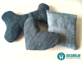 Schmusekissen Upcycling Jeans