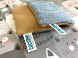 Jeans-/Cord Spielkissen mit Baldrian