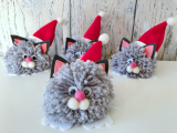 Weihnachts-Dekoration Nikokatz