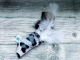Spielmaus Feathers mit Baldrian