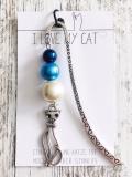 Lesezeichen Blue Cat