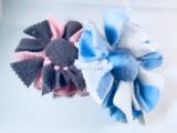 Knotenblümchen aus Fleece