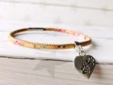 Kork Armband PetsLove mit Druckverschluss