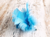 Feder-Spielanhänger Blue