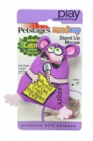 Petstages Madcap Stand Up Mouse (Catnip)