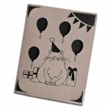 """Grußkarte Katzen """"Balloons"""""""