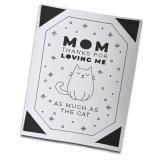 """Grußkarte Katzen """"Thanks Mom"""""""