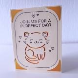 Grußkarte Katzen Purrfect Day II
