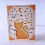 Grußkarte Katzen Trick Or Treat (Halloween)