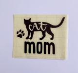 Vinylaufkleber Cat Mom