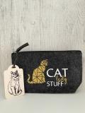 Filz Tasche Cat Lady Stuff Aufbewahrungstasche