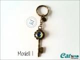 Glas Cabochon Schlüssel