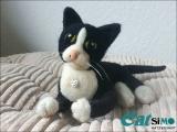 Ihre Katze aus Filz (18-22 cm)